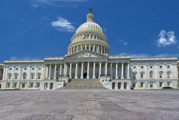 Washington DC Capitol view