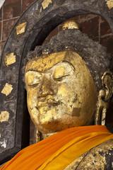 Pra Kantara bhudda image at the central hall of Maha Sarakham
