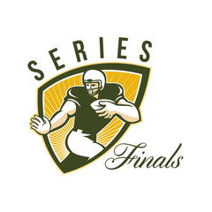 American Football Series Finals Shield