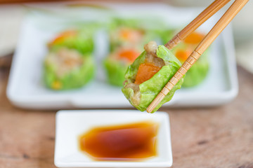 Chinese food - Tim Sum.