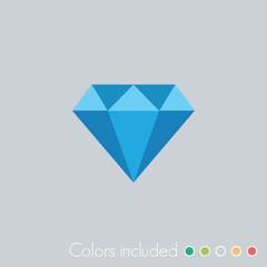 Diamond - FLAT UI ICON COLLECTION
