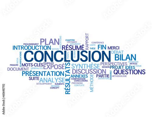 nuage de tags conclusion présentation résultats rapport fin