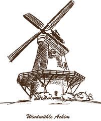 Windmühle Achim Mühle