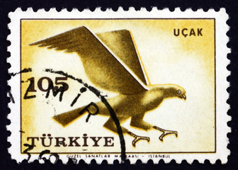 Postage stamp Turkey 1959 Hawk, Bird of prey
