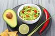 guacamole avocado lime e peperoncino