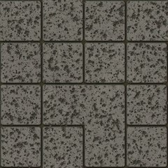 Chiped pavement render