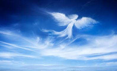 Obraz Anioł na niebie - fototapety do salonu