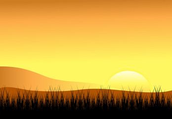Background-Sunset
