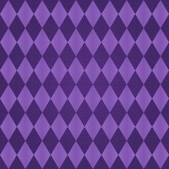 Seamless harlequin pattern-purple