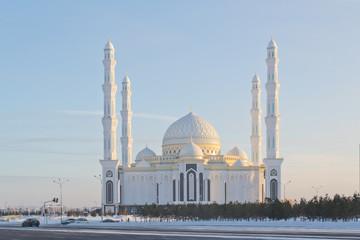 Астана, вид на мечеть Хазрет Султан