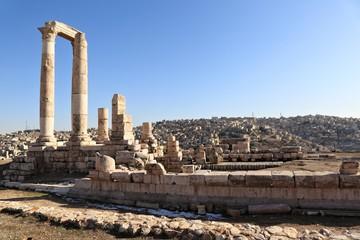 Anceint and Modern Amman, Jordan