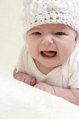 Newborn baby angry
