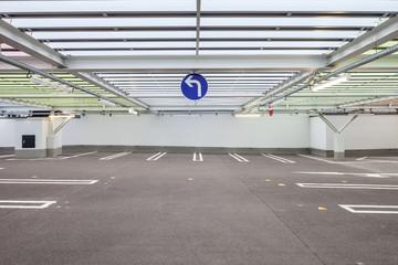 Parkhaus Parkplatz