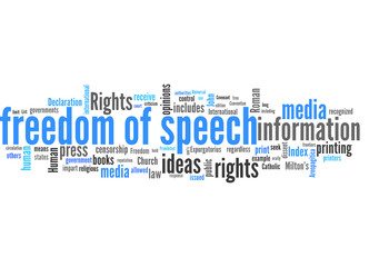 freedom of speech (media, control, censorship)