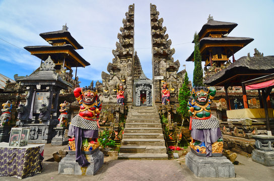 Batur Temple, Bali, Indonesia. One of the most important temples