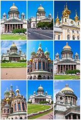Wall Mural - Churches in Saint Petersburg