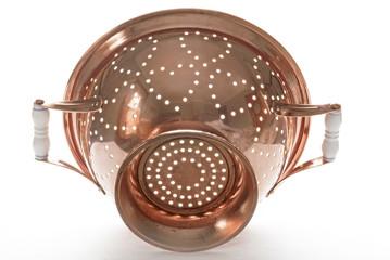 Backlit Copper Colander, Outside