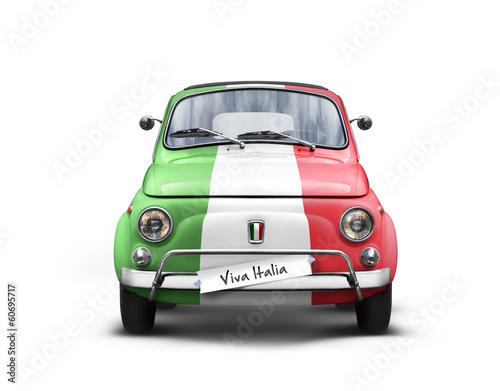 voiture italienne sur fond blanc photo libre de droits sur la banque d 39 images. Black Bedroom Furniture Sets. Home Design Ideas