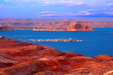 Wall Mural - Lake Powell at Twilight