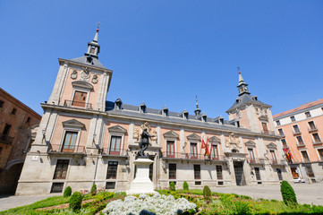 City Hall of Madrid in Spain