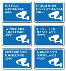 Panneau Vidéosurveillance.