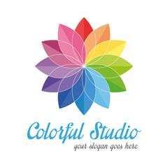 Colorful creative logo