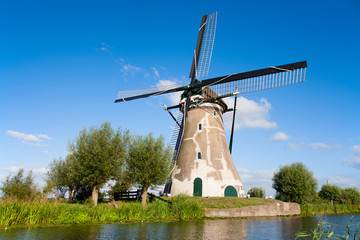 Foto op Textielframe Artistiek mon. Dutch windmill