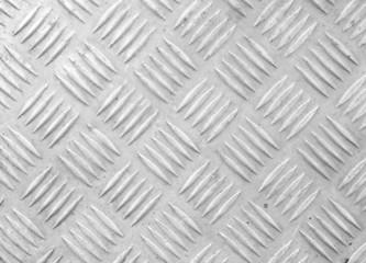 Old sheet of aluminum