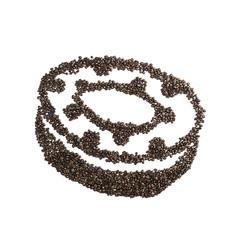 Coffee Bean Donut