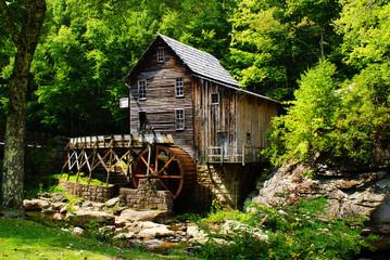 Photo sur Toile Moulins old mill