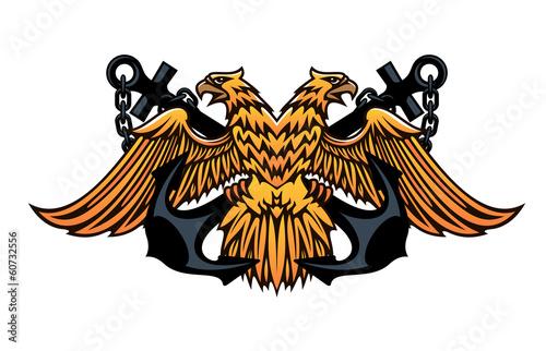 ваш голос можно ли использовать двуглавого орла в логотипе чего
