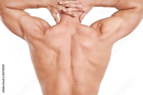 Gesundheit Rücken Mann Muskel\
