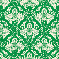 classic floral pattern for textile, wallpaper and other