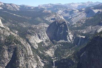 vista spettacolare yosemite national park