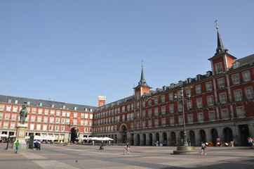 Plaza Mayor de Madrid, Espagne