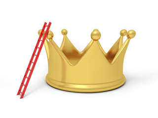 A big crown with a ladder