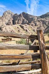 Vintage cowboy fence line cabin #5