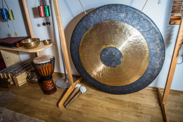 large gong