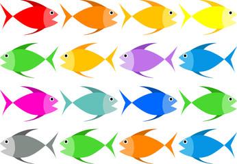 Full Color Fish Vector