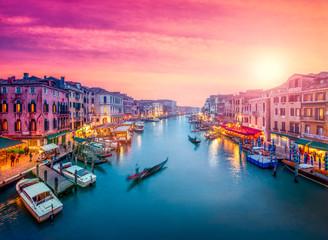 Fotomurales - Venedig bei Sonnenuntergang