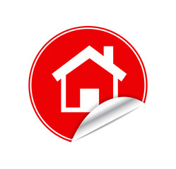 Red sticker home