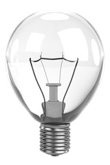 realistic 3d render of bulb