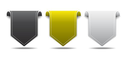 Labels Vector Icon Design