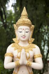 Buddhist statue in Thailand