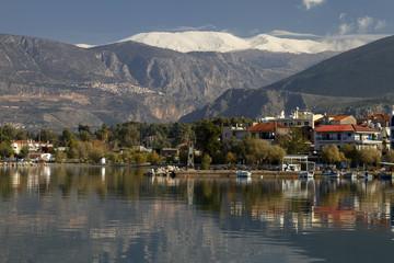Itea, Delphi, And Parnassos Mountain, Greece