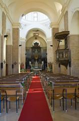 Mother Church of Pisticci. Basilicata. Italy.