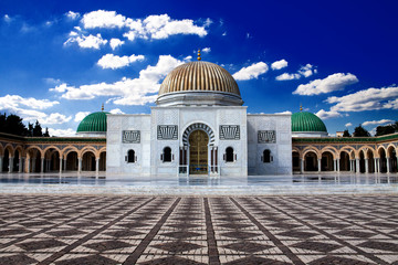 Photo sur Toile Tunisie Bourguiba's Mausoleum