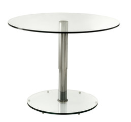 ISOLATED TABLE WITH WHITE BACKGROUND (WHITE)