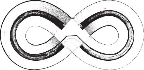 Papier Peint - Grunge Font Symbol
