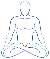 Meditation Yoga Position